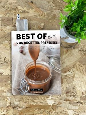 Livre Best Of vos recettes preferees La cuisne d'Adeline