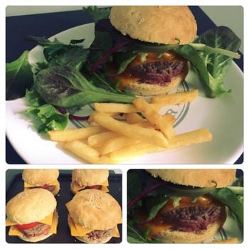 La Cuisine D Adeline Pains Burger Home Made