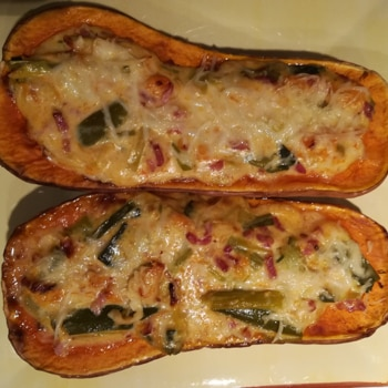 Stephou - Courge butternut farcie #