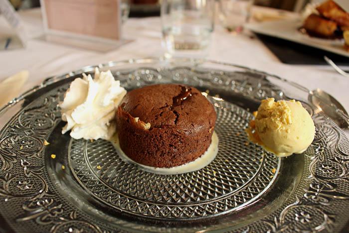 Moelleux chocolat Bistrot des copains Strasbourg