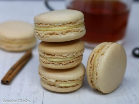 Macarons à la vanille et aux épices de noël