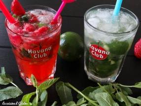 mojito avec ou sans alcool, classique ou fraise