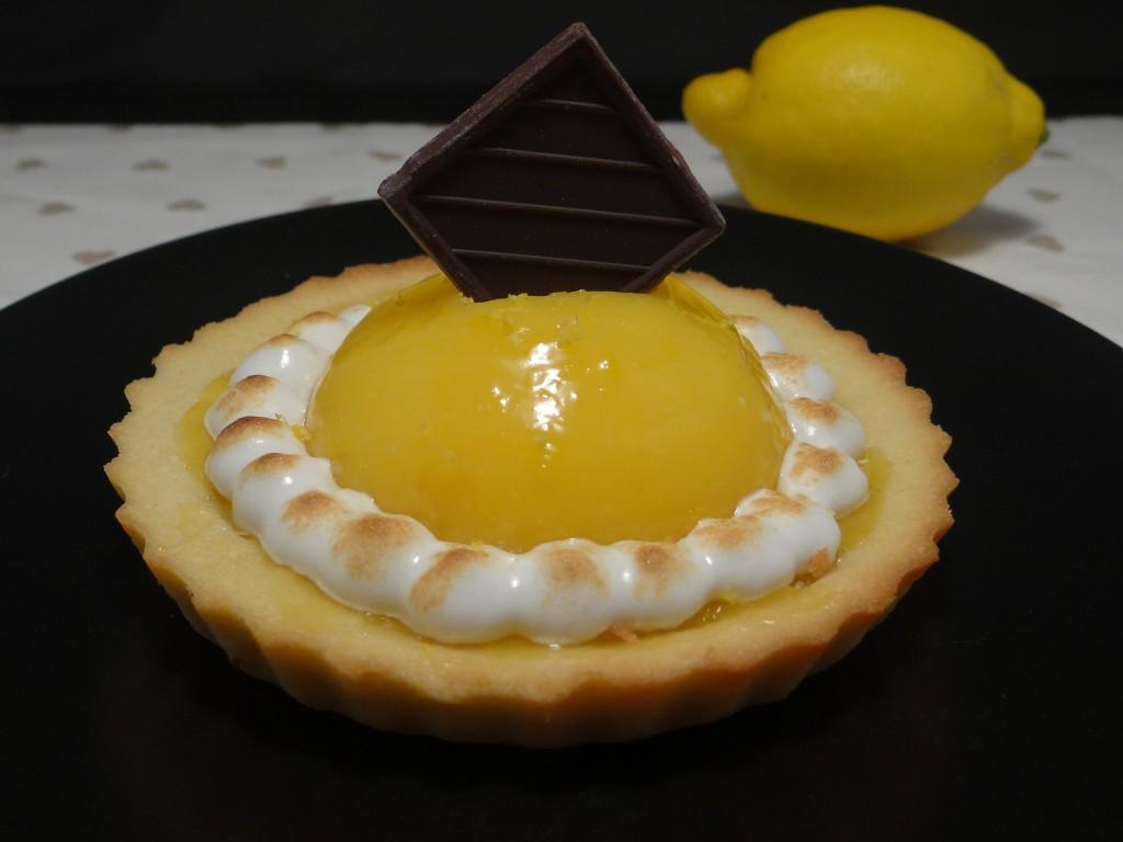 tarte citron meringuée gélifiée