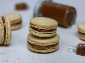 Macarons au caramel et beurre salé