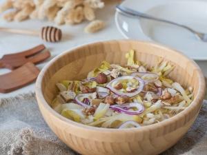 Salade d'endives pommes
