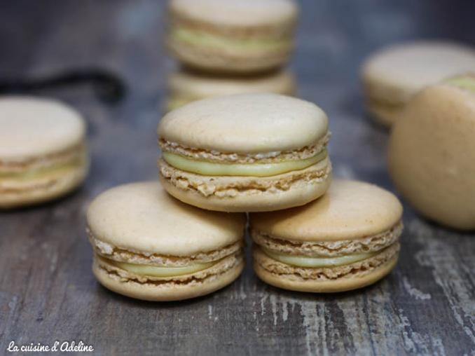 Macarons A La Vanille La Cuisine D Adeline