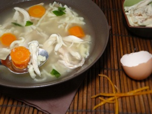 soupe poulet