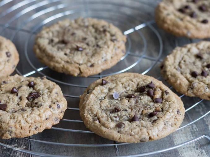 Cookies moelleux aux pépites de chocolat recette facile et rapide