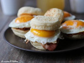 Egg muffins bacon recette brunch