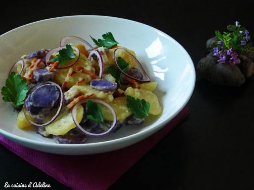 salades de pommes de terre grumbieere salad