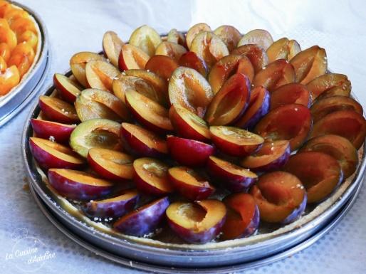 Tarte aux quetsches Alsacienne recette facile