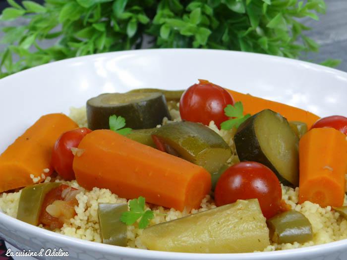 couscous aux légumes végétariens