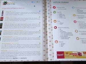 liste de courses kitchen trotter