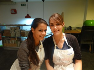 Alexandra (Sweet and fairy) et Adeline (La cuisine d'Adeline)