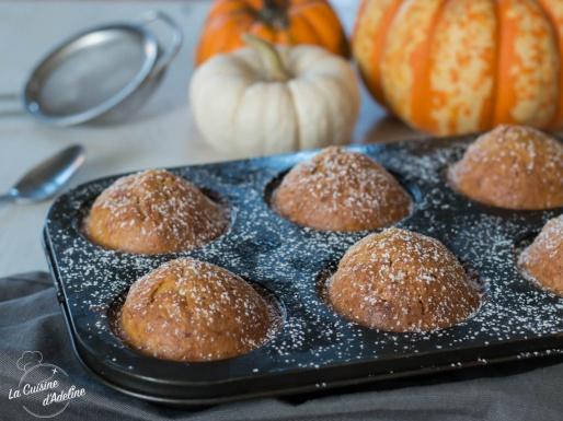 Muffins à la courge recette facile