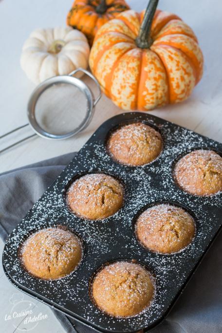 Muffins à la courge recette