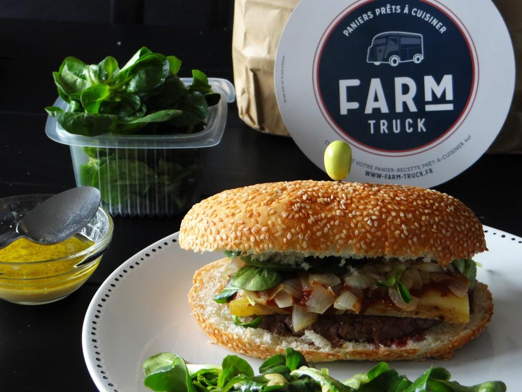 burger farm truck