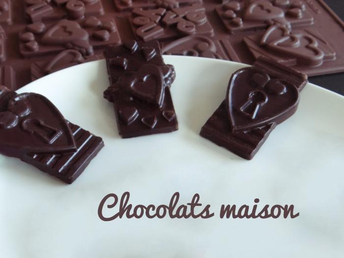chocolats maison-tempérage