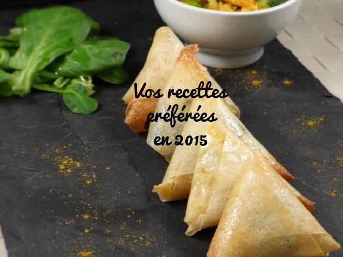 recettes preferees 2015