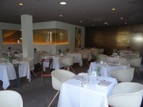 Salle du restaurant Le Chatelain
