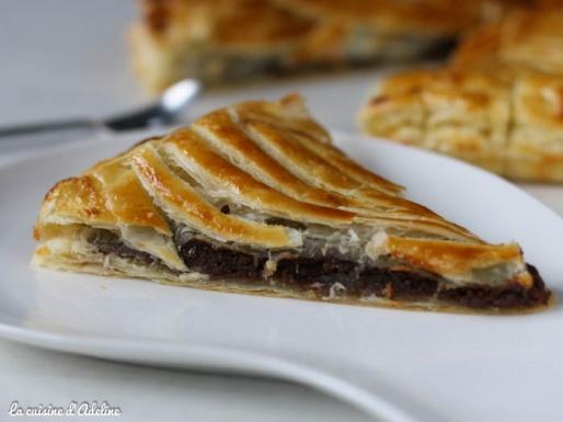 galette des rois chocolat amande recette