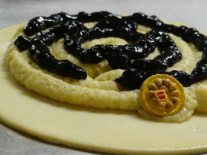 galette frangipane myrtille