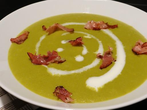 soupe de legumes verts