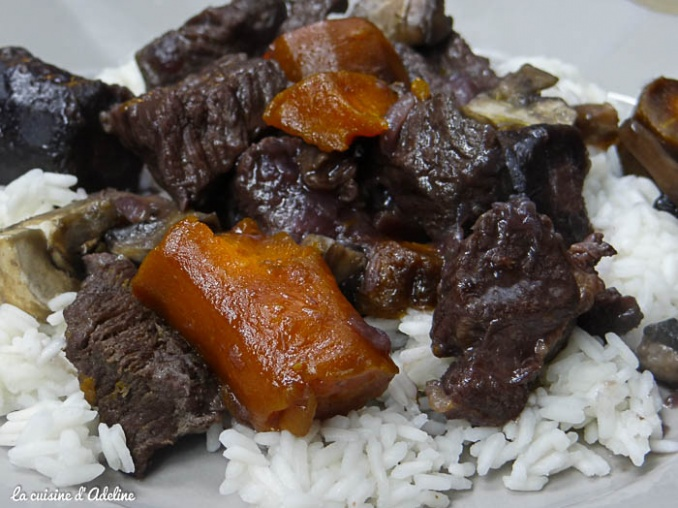 boeuf carotte assiette