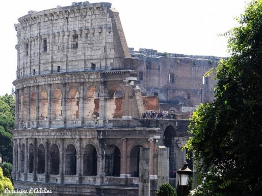 colisee facade exterieur Rome