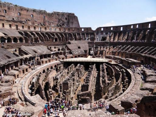 colisée intérieur Rome