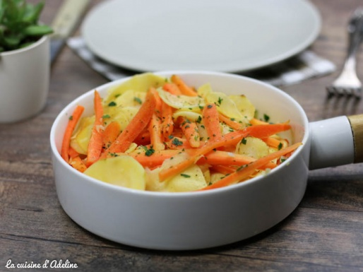 Poêlée de carottes et panais