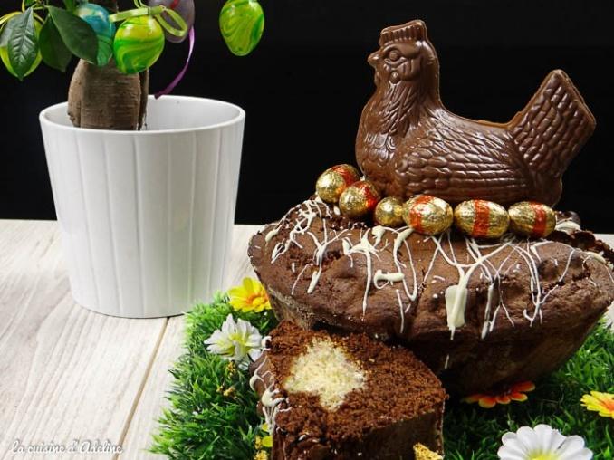 gâteau chocolat nid de pâques