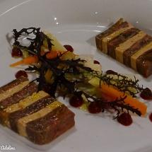 mille-feuilles foie gras
