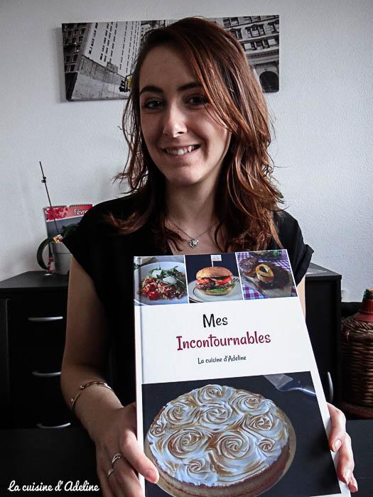 mon 1er livre recettes cuisine d'adeline
