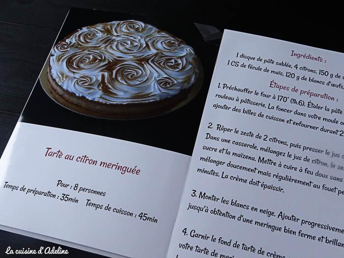 recette tarte citron livre incontournable cuisine d'adeline