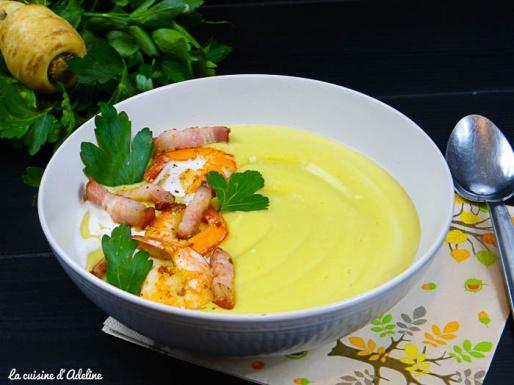 velouté panais curry coco