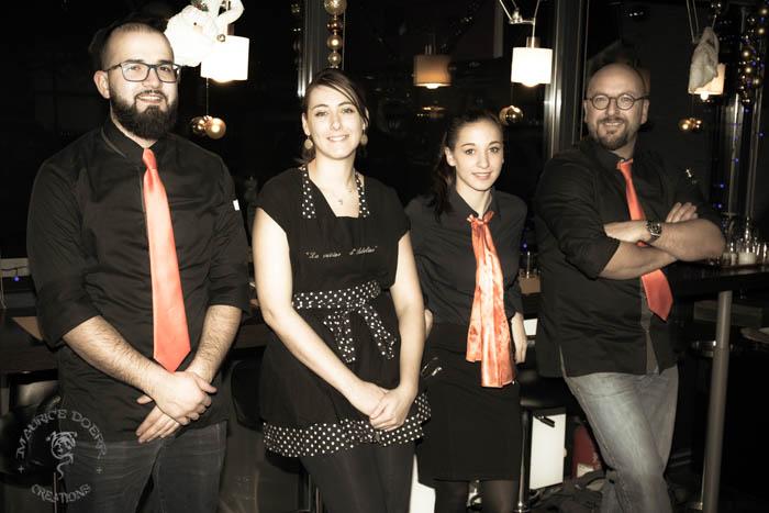 l'équipe du restaurant le 15 strasbourg