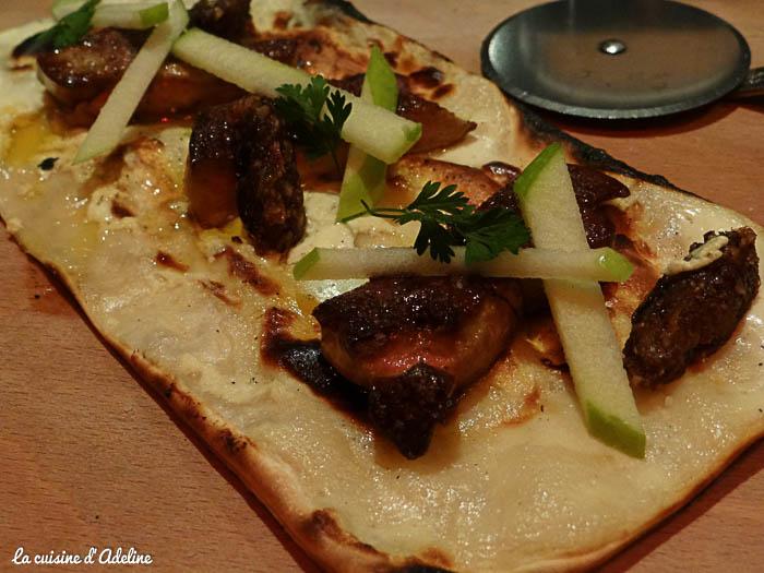 tarte flambée foie gras flamm and co