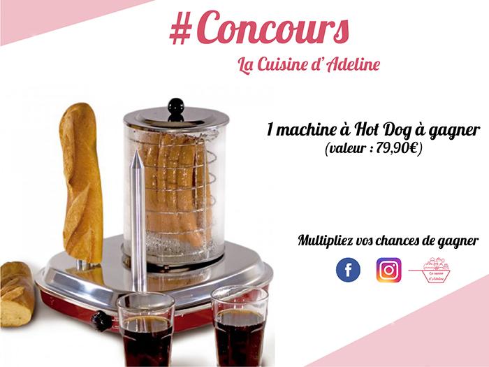 concours la cuisine d'Adeline machin hot dog