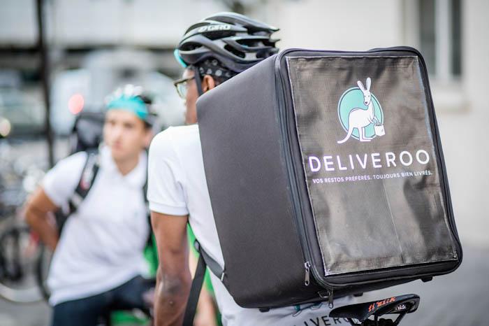 coursier deliveroo vélo