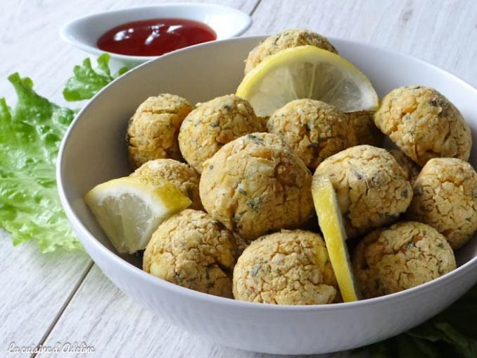 boulettes vegetarienne citron