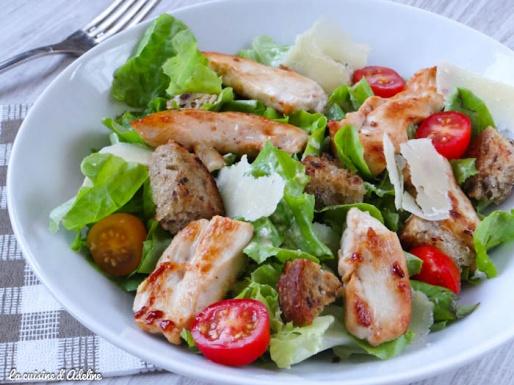 salade césar recette sauce caesar salad