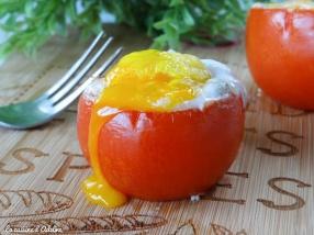 oeuf cocotte tomate au four recette facile