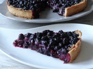 tarte aux myrtile d'alsace