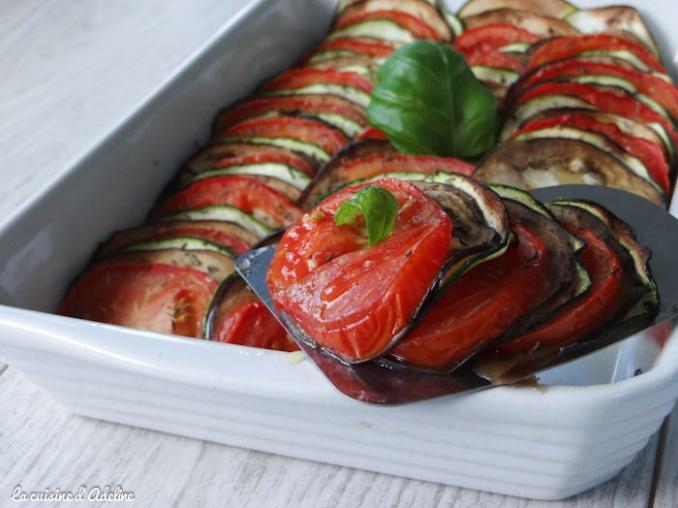 tian de légumes courgettes tomate aubergine recette