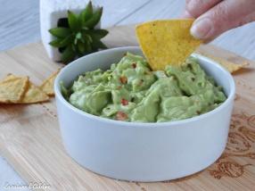 guacamole mexicain avocat maison recette