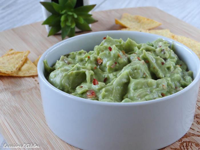 guacamole mexicain recette
