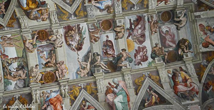 Chapelle Sixtine musée Vatican Rome