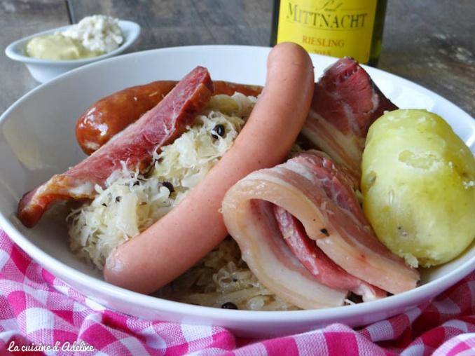 Choucroute garnie alsacienne la cuisine d 39 adeline - Alsace cuisine traditionnelle ...