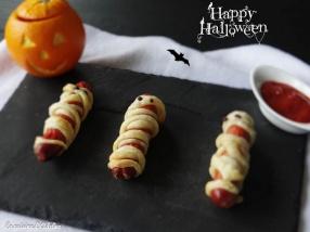 Knackis momies - Recette Halloween